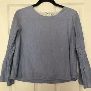 Blue blouse!